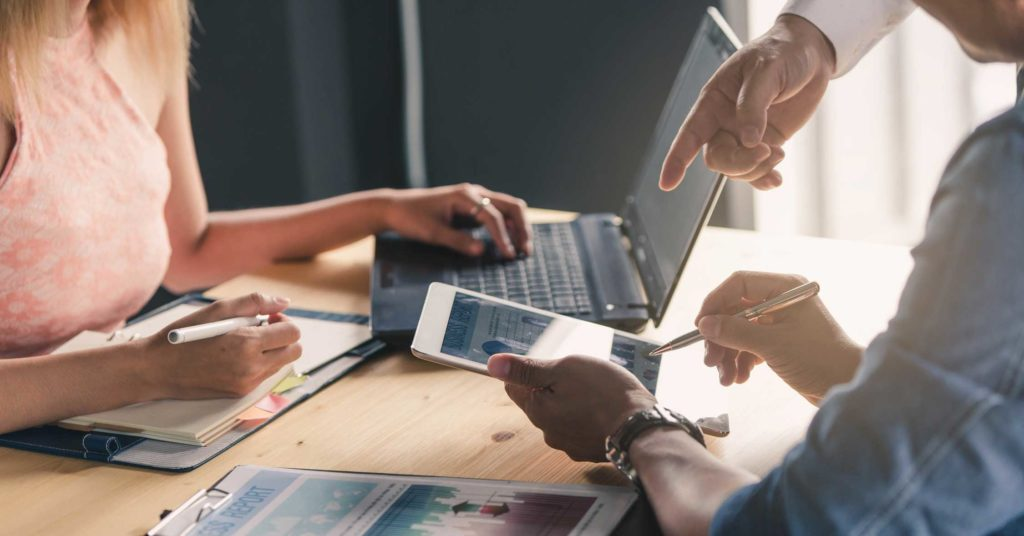 Digital Marketing Experts Working Together